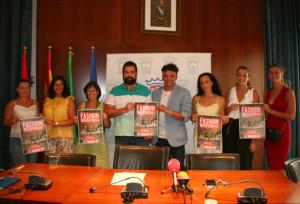 Presentación de la Fashion Weekend en el Ayuntamiento cartayero.