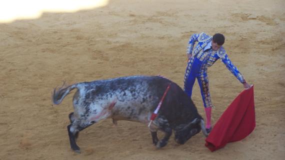David de Miranda se erige triunfador de la tarde en Cortegana
