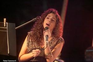 Clara Campos, cantante onubense.
