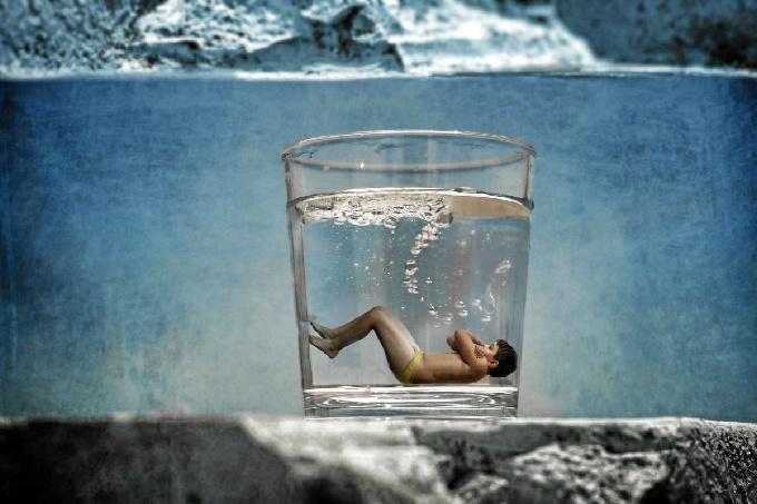 Una fotografía del lepero Manuel Delgado, seleccionada en el concurso 'Imagina Europa sin fronteras'