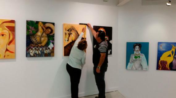 La muestra 'México y España, unidos por eI arte' se inaugura este martes en la Onubense dentro del OCIb 16
