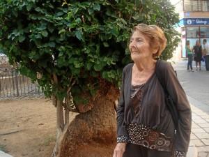 Con seis hijos se vio sola en una ciudad que no conocía, Huelva.