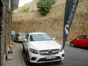 El nuevo GLC Coupe aparecado en el Restaurante Acanthum.