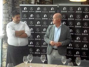 Pedro Weicker y Xanty Elías presentaron a la prensa las novedades.