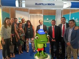 Presentado en la Feria de Octubre de Cartaya el proyecto Islantilla Innova.