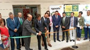 Momento de la inauguración de Agrocosta.