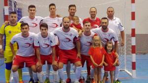 El Almonte FS, gran favorito en su partido en la cancha del CD San Juan FS 2015.