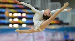 Ángela Martín se incorporó este lunes a la selección nacional de gimnasia rítmica