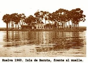 Isla de Bacuta, frente al muelle.