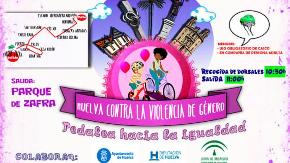 II Paseo en Bici contra la Violencia de Género, este sábado 24 de septiembre en Huelva