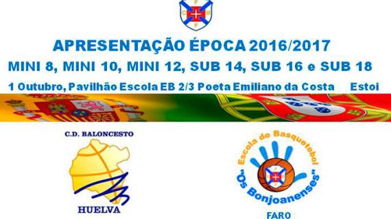 Varios equipos del Ciudad de Huelva se desplazan este sábado a Faro a una jornada de convivencia y de baloncesto