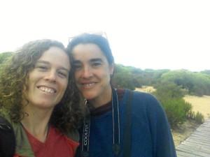 Han viajado a Huelva en caravana.