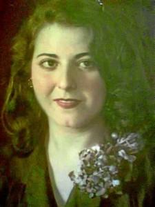 Una fotografía de Sara cuando joven.