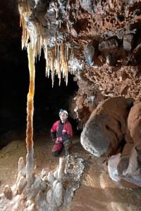 Otra imagen de la Cueva de Fuentemolinos (Burgos). / Foto: Paco Hoyos.