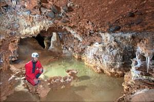 Cueva de Fuentemolinos (Burgos). / Foto: Paco Hoyos.