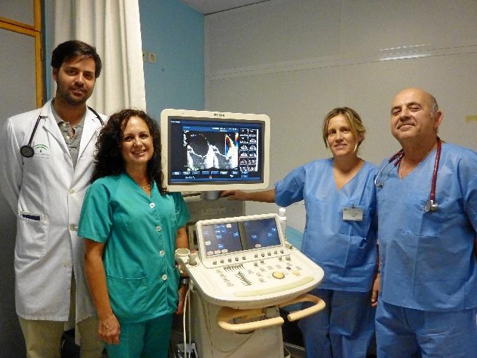Algunos de los profesionales de Cardiología implicados en la nueva unidad.