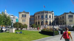 Parlamento de Oslo.