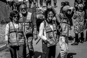 Integrantes del primer grupo de cooperantes de AYRE que estuvieron en Idomeni.