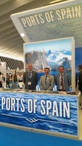 El Puerto de Huelva ha acudido al evento de cruceros Seatrade Cruise Med de Santa Cruz de Tenerife.