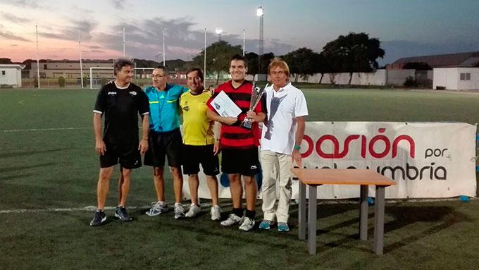 El Centronuba fue el ganador del torneo senior.
