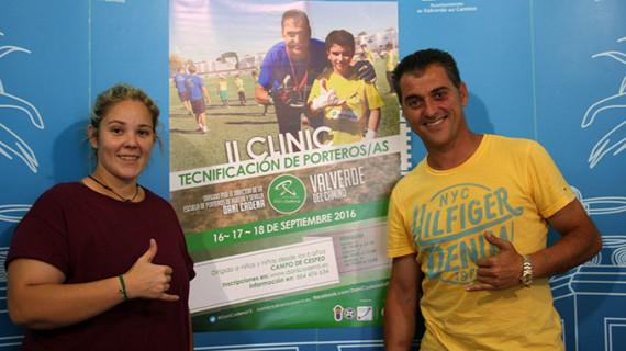 Llega a Valverde del Camino el II Clinic Tecnificación de Porteros de Fútbol
