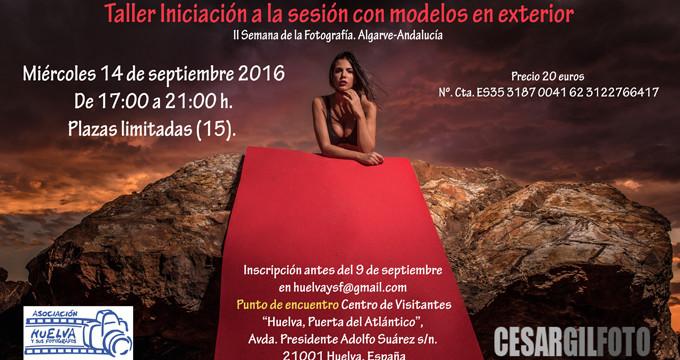 César Gil imparte un taller en el marco de la II Semana de la Fotografía