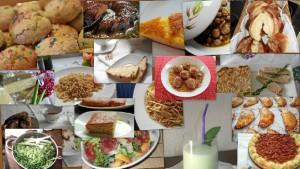El recetario está dividido por categorías o ingredientes.