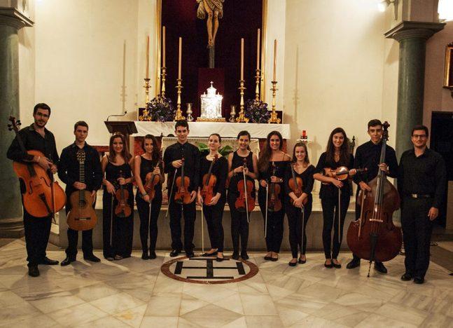 La Orquesta Barroca de Huelva ofrece un concierto en la Iglesia de la Concepción