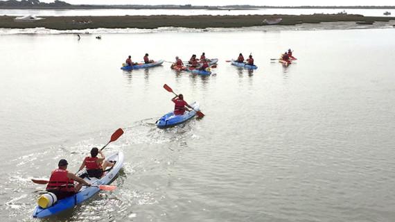 La Mancomunidad de Islantilla organiza para este sábado el II Descenso del Río Piedras en Kayak