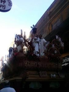 Hasta 24 pasos han procesionado este sábado en Huelva.