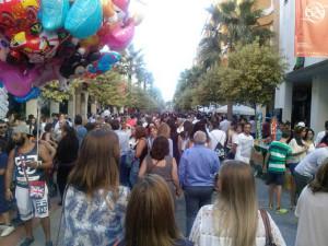 Huelva se ha echado a la calle.