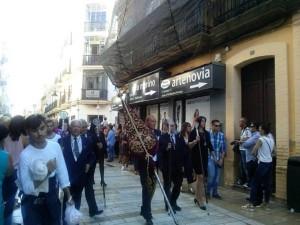 Ambiente cofrade en el mes de septiembre de Huelva.