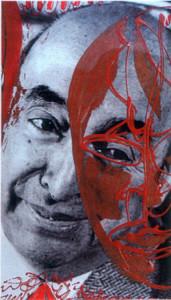Homenaje a Pablo Neruda.