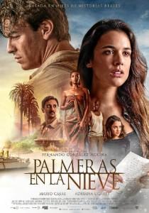 Cartel de la película 'Palmeras en la nieve'.