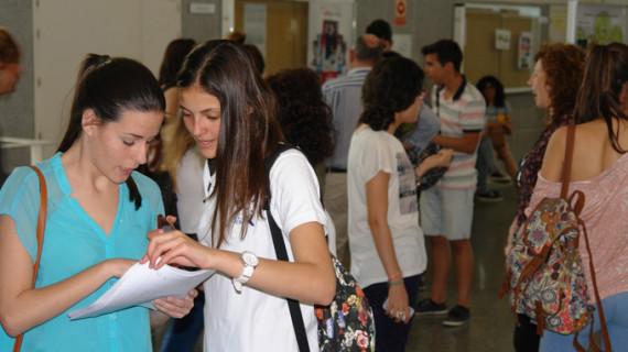 Un total de 555 estudiantes comienzan las Pruebas de Acceso a la Universidad