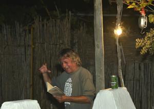 El escritor Eladio Orta.