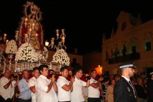 Las fiestas se celebran en honor de la Virgen del Rosario.