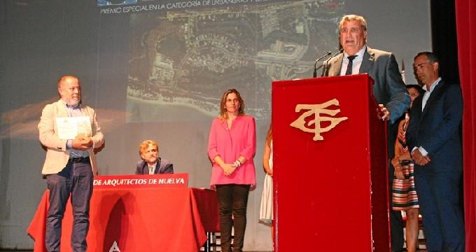 El Colegio de Arquitectos de Huelva premia al Consistorio de Cartaya por su modelo urbanístico