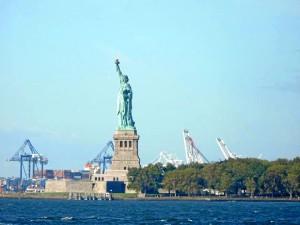 Comenzó el viaje el 3 de septiembre en Nueva York.