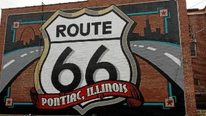 La segunda parte de su viaje fue siguiendo la mítica Ruta 66.