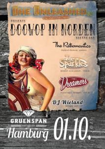 Cartel del festival DoopWop im Norten.