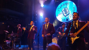 The Dreamers durante su actuación en Hamburgo.