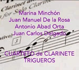 Estará acompañada por el Cuarteto de Clarinete 'Trigueros'.