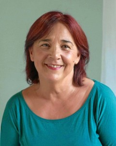La escritora Silvia Díaz.