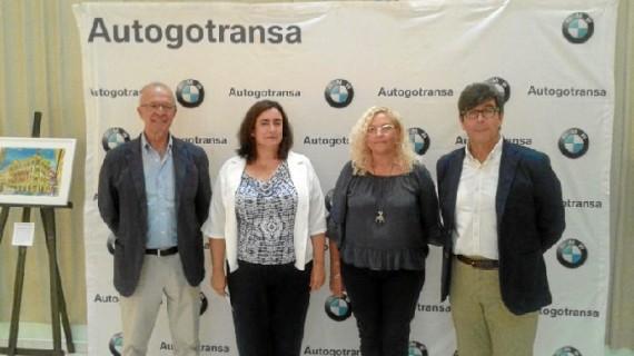 La exposición 'Mi Huelva', de Andrés Espuelas, actualmente en Aljaraque, va cerrando su periplo provincial