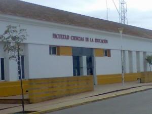 Sede de la Facultad de Ciencias de la Educación de Huelva