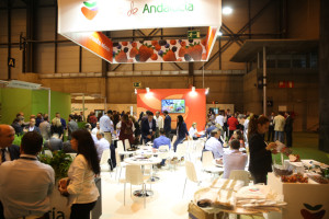stand de Fruta de Andalucía en Fruit Attraction.