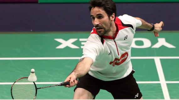 Pablo Abián cierra el Open de Austria de badminton con un excelente segundo puesto