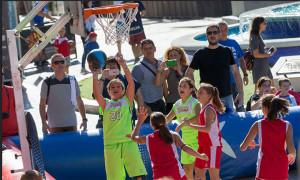 Los participantes pudieron disfrutar de una gran jornada de baloncesto. / Foto: Alberto Nevado/FEB.