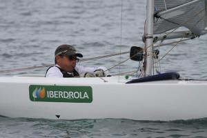 Excelente actuación de Borja Melgarejo en la última prueba del IV Circuito Iberdrola de Vela Paralímpica 2.4mR.